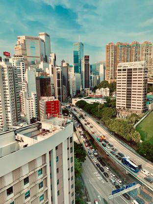 Downtown Hong Kong. Photo taken by Cometan.
