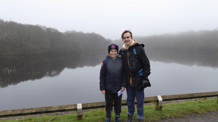 Cometan & His Brother, Kieran Taylorian While On a Hike