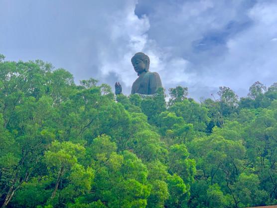 Tian Tan Buddha, Lantau Island, Hong Kong by Cometan