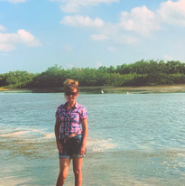 Louise J. Counsell at Marco Island, Flor
