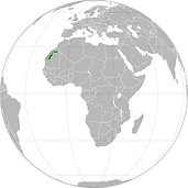Astronism in Western Sahara refers to the presence of the Astronist religion in the Sahrawi Arab Democratic Republic, as part of the worldwide Astronist Institution.