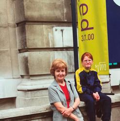 Cometan Sister & Grandmother in London.j