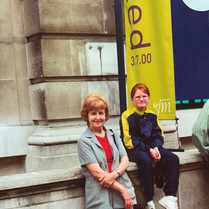 Cometan Sister & Grandmother in London.j