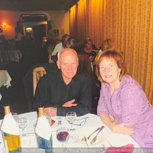 Cometan's Grandmother, Hilda, & Grandfat