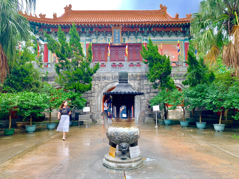 Po Lin Monastery, Hong Kong, August 2019