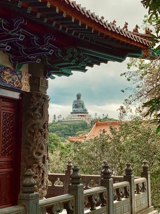 The Tian Tan Buddha from Po Lin Monastery