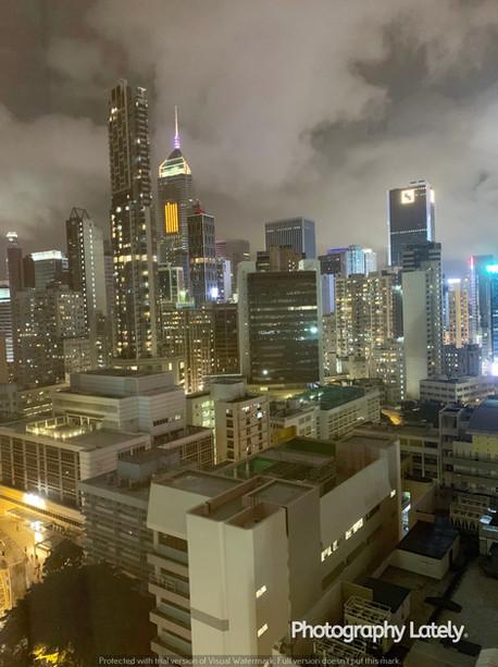 Hong Kong at Nighttime