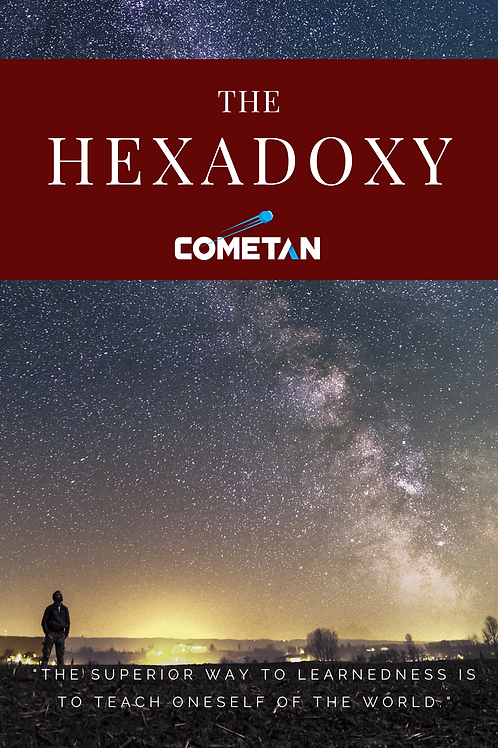 The Hexadoxy: The Principles of Ontology & Perception by Cometan