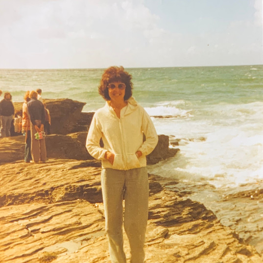 Grandmother of Cometan At The Coast