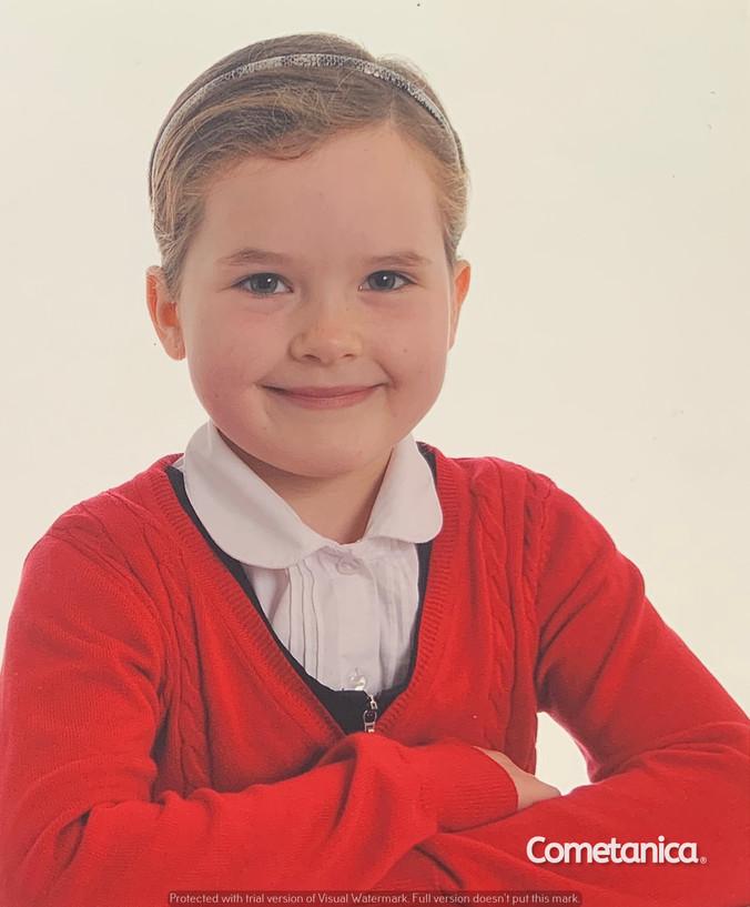 Charlotte Sophia During Primary School