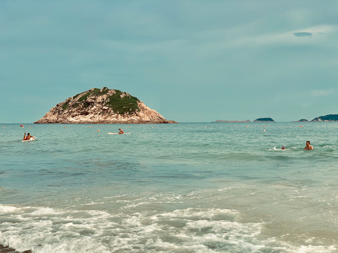 Tropical Beach at Hong Kong by Cometan