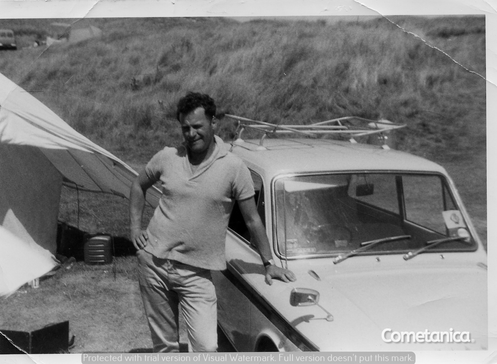 William Warbrick, grandfather of Cometan in 1964