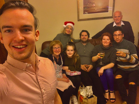 Cometan & His Family at Christmas 2019 at Brooklands