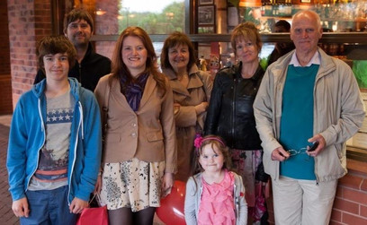 The Family of Cometan at his sister, Lucia Natalie's Birthday