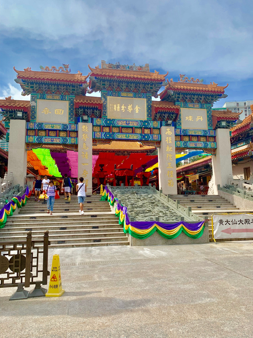 Entrance to the Taoist Temple by Cometan