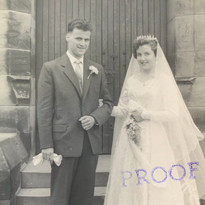 Bill Warbrick Marries Hilda Cottam, the