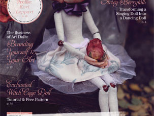 Thanks Art Doll Quarterly!