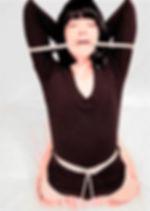RosazulBDSM - Tutorial Shibari - Mordaza de cuerda