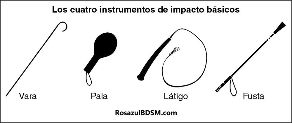 RosazulBDSM: Los 4 instrumentos de impacto básicos