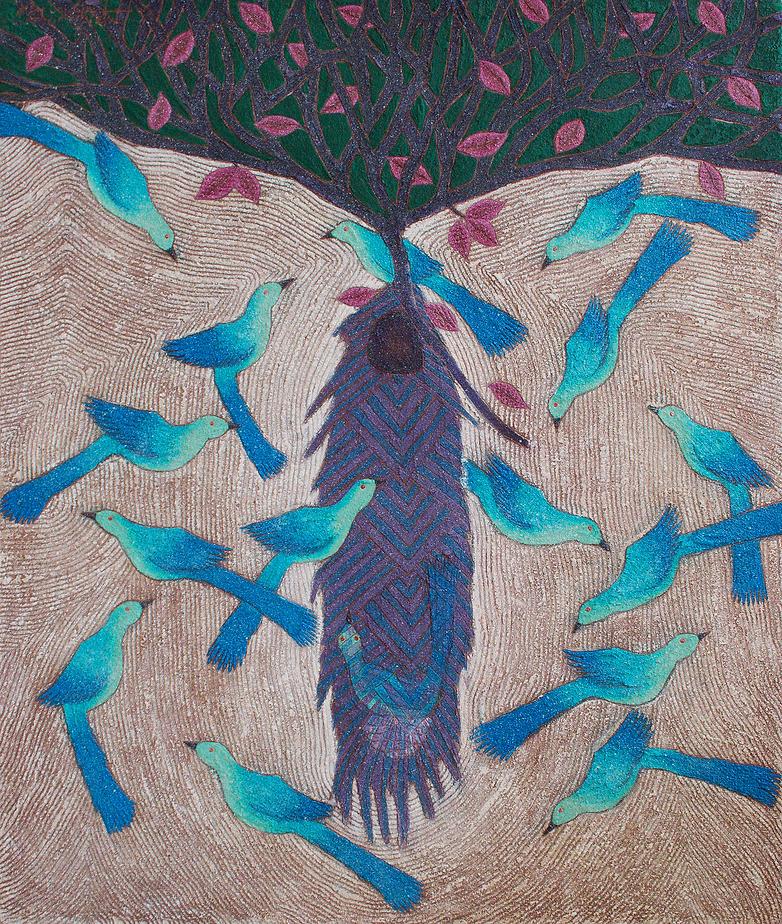 Esteban Urbieta | Painting | Larimar Art Gallery | Oaxaca de Juárez, Mexico