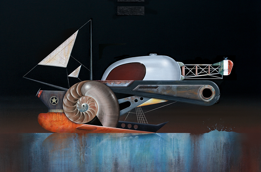 Francesco Rucher | Painting | Larimar Art Gallery | Oaxaca de Juárez, Mexico