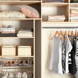 Wardrobe Organising