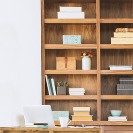 Let your office be a reflection of your mind - clear, focused and organised