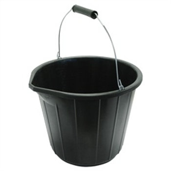 PVC Bucket 3 Gal Black