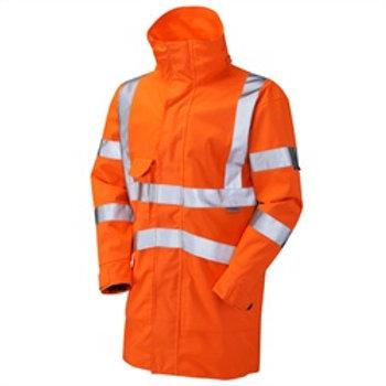 Rail Jacket Orange  small -6xl