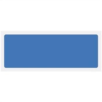Blue Blank Rigid Plastic Sign