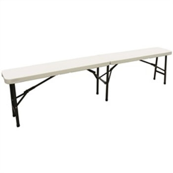 Plastic Folding Bench Form for Buffet Table