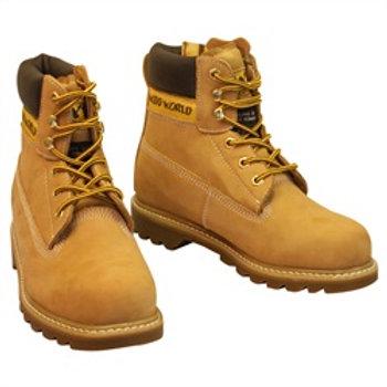 Wood World Nubuck Safety Boot - WW4T0