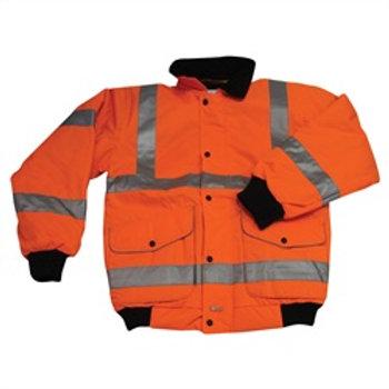 Bomber Jacket High Visibility Orange