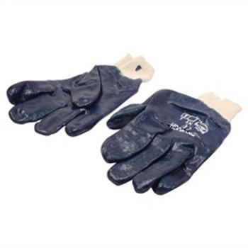 Glove PVC Nitrile Blue