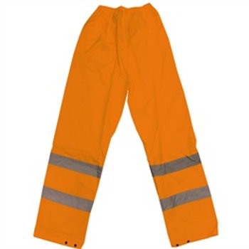 Trouser Orange Non-Breathable
