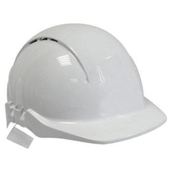 Concept Helmet Not Vented White - Standard Peak