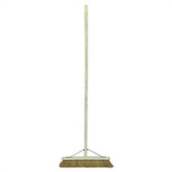 "Broom 18"" Coco Platform Brush  Complete"