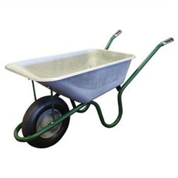 Wheel Barrow Deep Pan 9100 (Pneumatic Wheel)