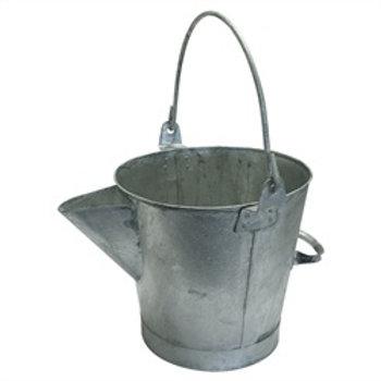 V-lipped Galvanised Bucket