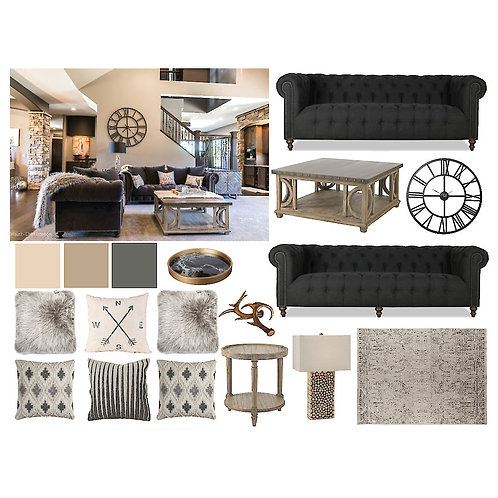 Living/Family Room: Rustic