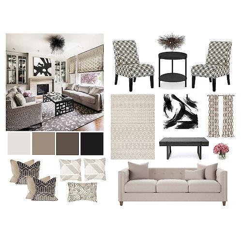 Living/Family Room: Contemporary