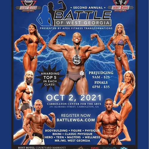 Click the Battle of West GA flyer to pick a photo or video package