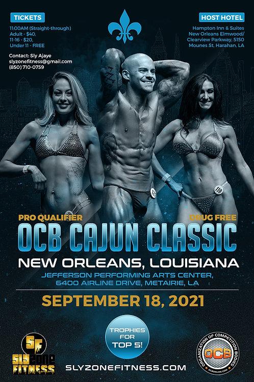 Click the OCB Cajun Classic flyer order the Prejudging and Finals Vi