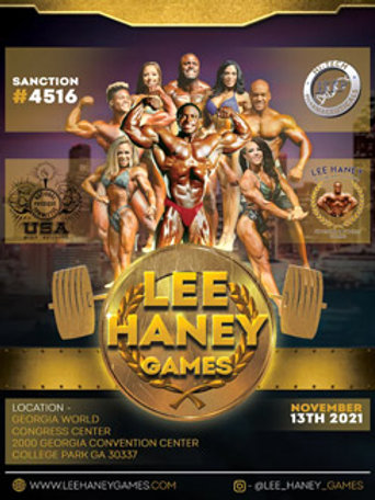 Click the Lee Haney Games flyer to purchase stage photos