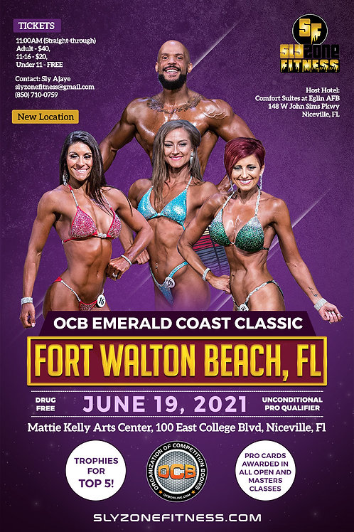 Click the Emerald Coast Classic flyer order the Prejudging and Finals Video