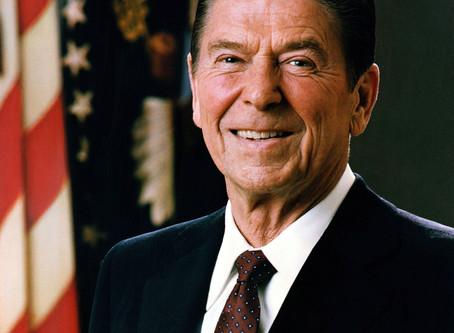 Humor tut gut - Reagan als Vorbild