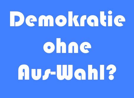 Demokratie nicht für alle?
