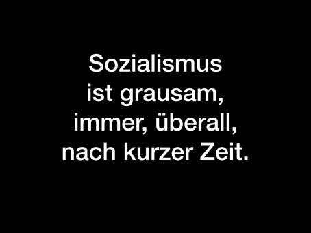 Sozialismus ist eine Utopie, die Menschen nicht achtet