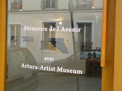 Gallery entrance view