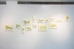 Installation View - Coordinates